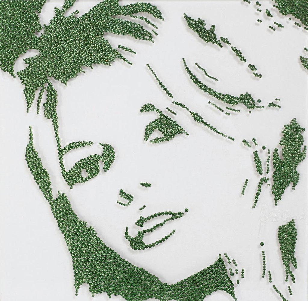 Brigitte Bardot on green